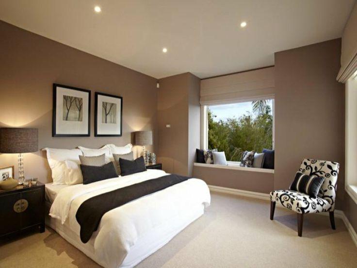 ventanas modernas con asiento para el dormitorio