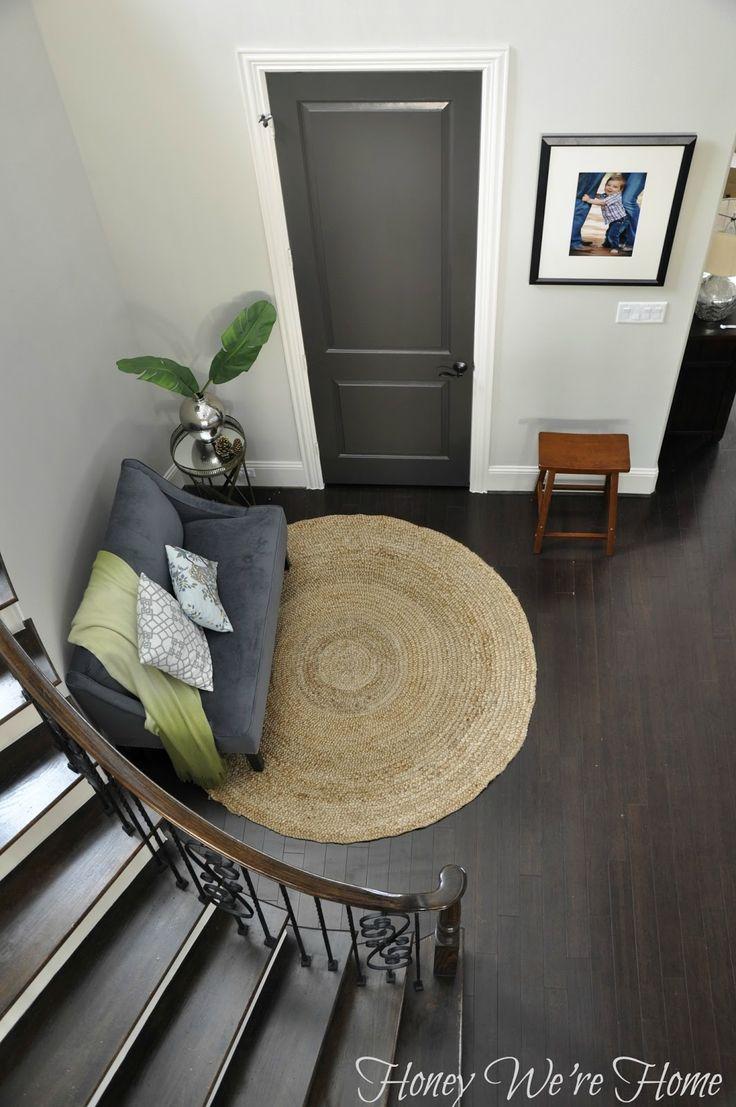 Honey Weu0027re Home: Black/Gray Painted Interior Doors.