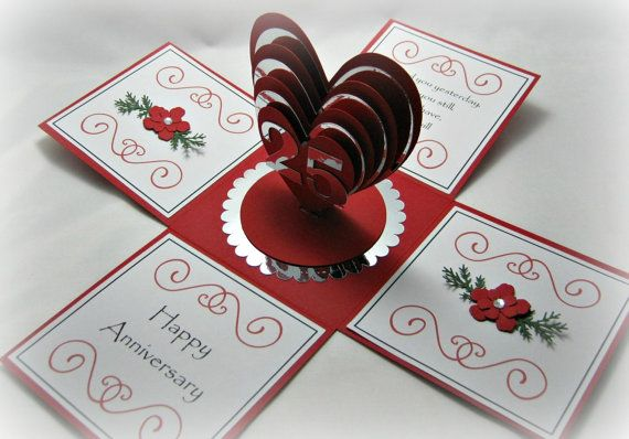 twisting hearts pop up card template - 17 bilder om box pop up cards p pinterest my little