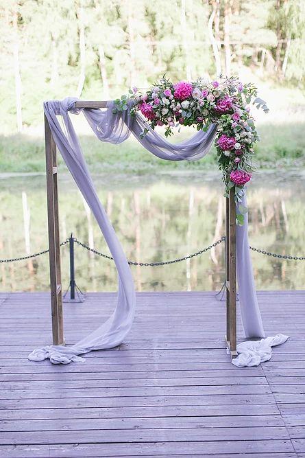 Оформление свадеб в Москве - Свадьба загородом