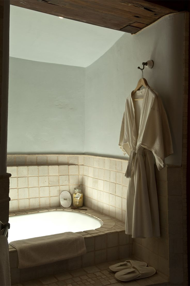 Our deep soaking tubs are ideal for aromatherapy baths...