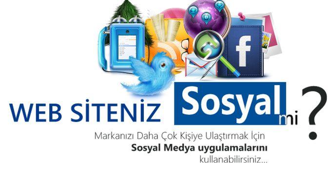 Web Siteniz Sosyal mi