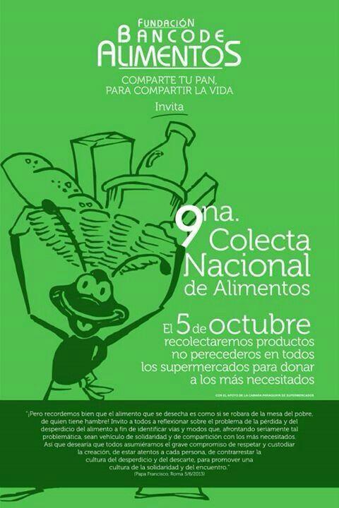 El banco de alimentos del paraguay propone el voluntariado for Banco abierto sabado madrid