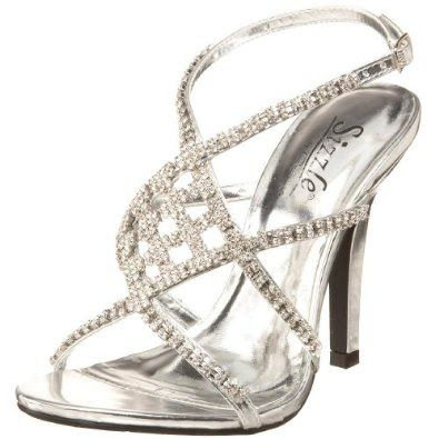 2 Silver Homecoming Shoes | bridal fashion wedding ideas