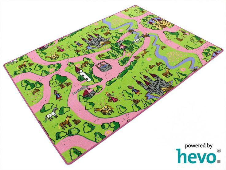 Der erste Spielteppich für Mädchen.Kinderteppich