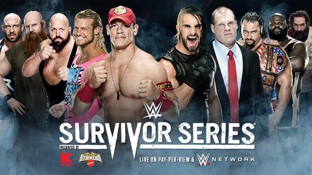 Team Cena Vs Team Authority Match in WWE Survivor Series 2014
