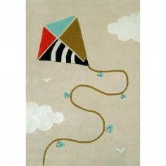 Tapis Cerf-volant (110 x 160 cm) - Art for Kids