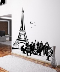 The romance of Paris through the art of wall decals...