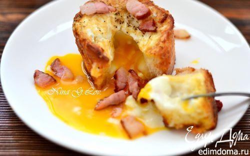 Закусочный фондан на завтрак | Кулинарные рецепты от «Едим дома!»