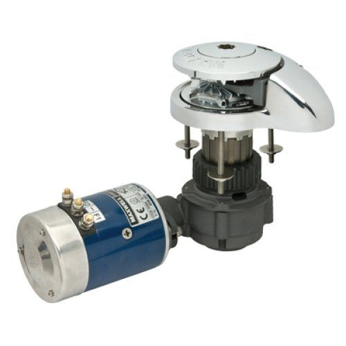 "MAXWELL RC Series Windlass, MFG# RC8812V, Vertical drum with below-deck motor, 1320 lb. max capacity, pulls 5/16"" chain @ 105'/min or 9/16"" rope @ 92'/min, 12 VDC, 1000 Watt motor. Includes manual crank handle, circuit breaker, and up/down swi / MAX-RC8812V /. MPN: MAX-RC8812V."