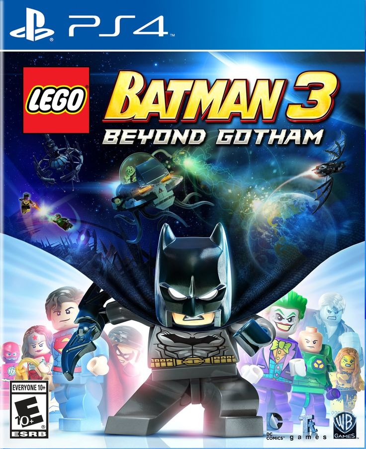 Amazon.com: LEGO Batman 3: Beyond Gotham - PlayStation 4: Video Games