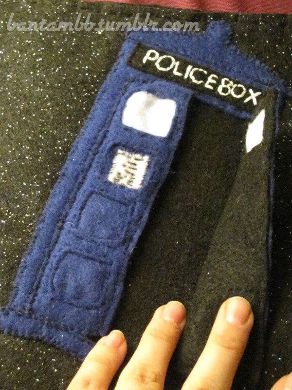 Doctor Who quiet book. Bantambb.tumblr.com