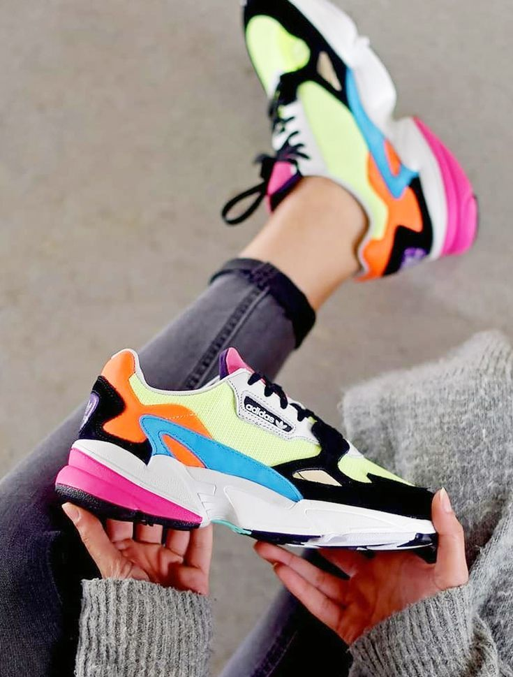 Neon Pack Adidas Falcon sneakers.- Run Baby Run-#Adidas ...