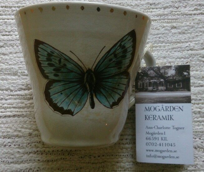 Cup from Mo gårdens keramik