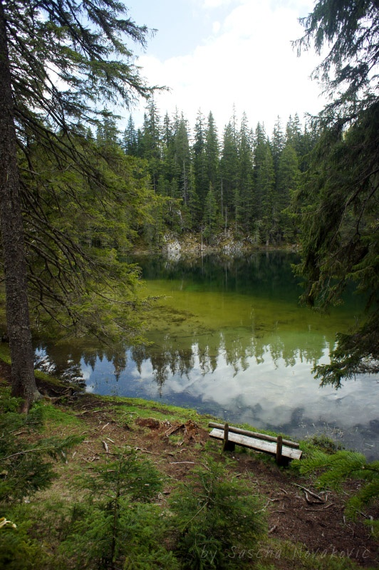 "Zminje jezero - ""snake lake"", Durmitor Nationalpark, Montenegro"