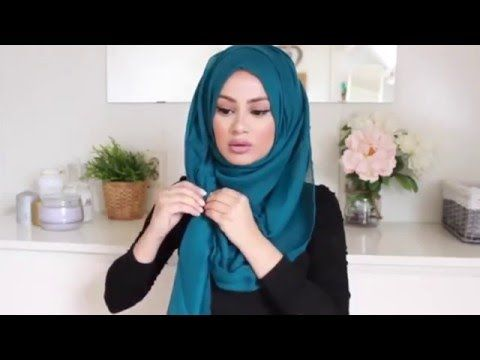 2016 The Perfect Hijab Tutorial for Spring! - YouTube