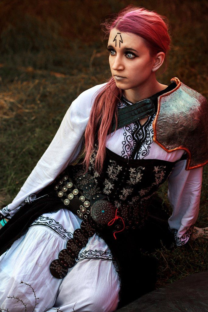 Homunculus from Thay  Model: Tail Photographer: Alena Bezzubenko  #Cosplay #warrior #Original #Neverwinter
