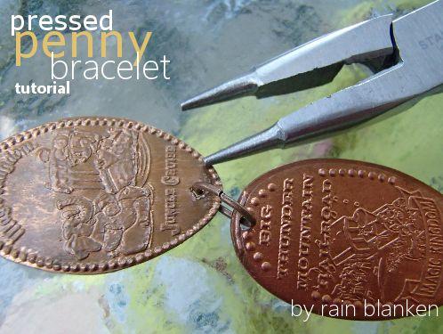 Make a Pressed Penny Bracelet
