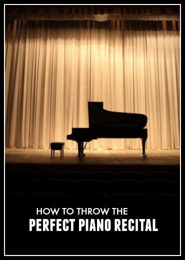 How to Use Your End of Year Piano Recital to Retain Students