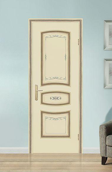 Межкомнатная дверь «Флоренция». Отделка «прованс бежевый» #дверирулес #двери #межкомнатные #doors #русский_лес