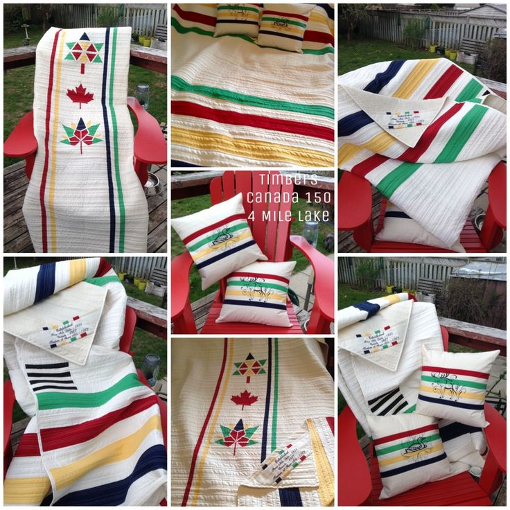 My Canada 150 Project ready for summer celebrations!     I designed this with a lot of research on HBC point blankets and the help of a couple Paper Piecing patterns.    The paper piece side will be the back after 2017. Paper piece design from top is mine (Canada 100),  Monica Curry (Maple Leaf) and Dana Szucs Hayden (Canada 150).