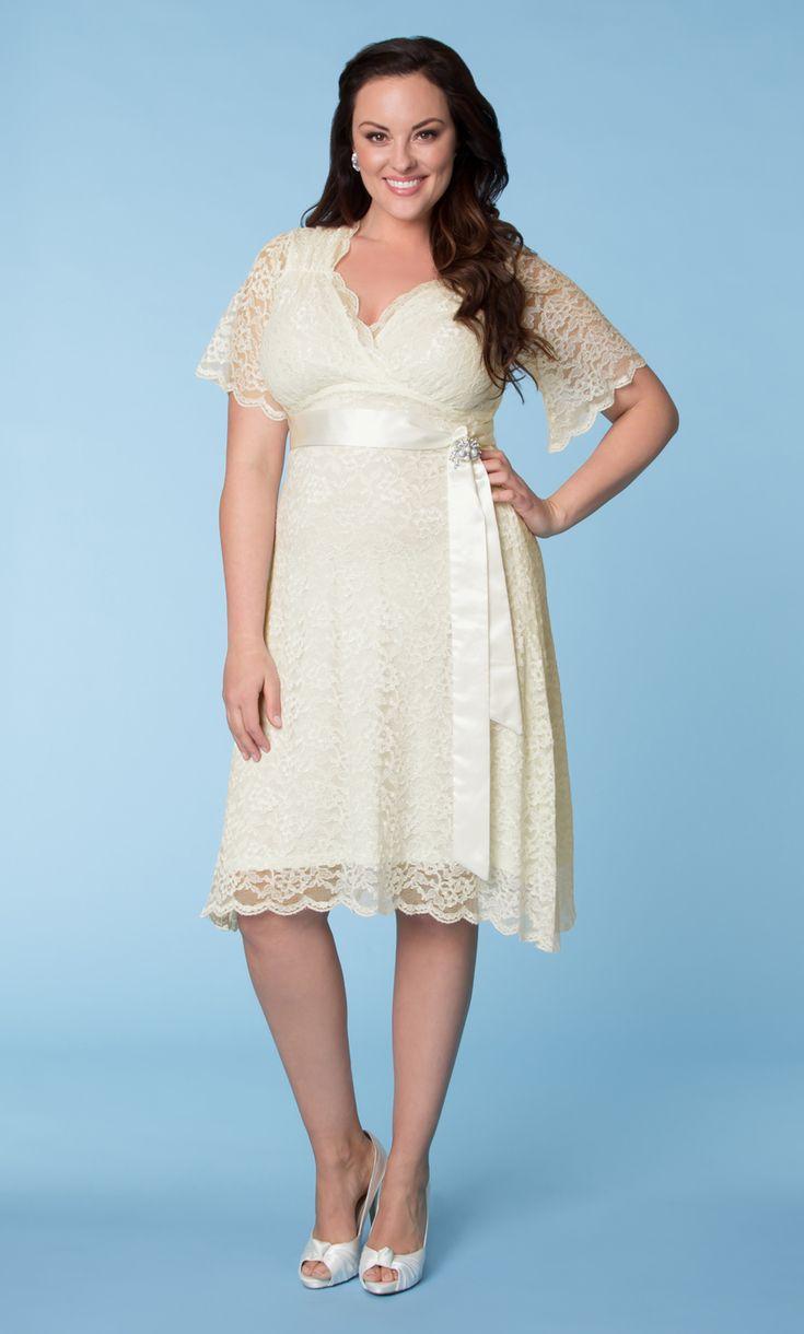 Plus Size Knee Length Wedding Dresses – fashion dresses