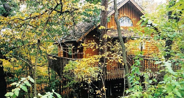 Hideaway Treehouse - The Treehouse Cottages, Eureka Springs, Arkansas