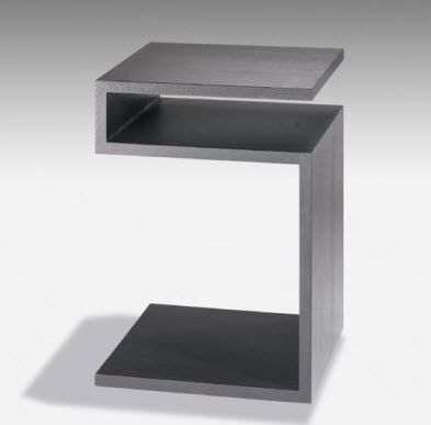 Lacquered Contemporary Side Table DEPOSITO LAMBERT