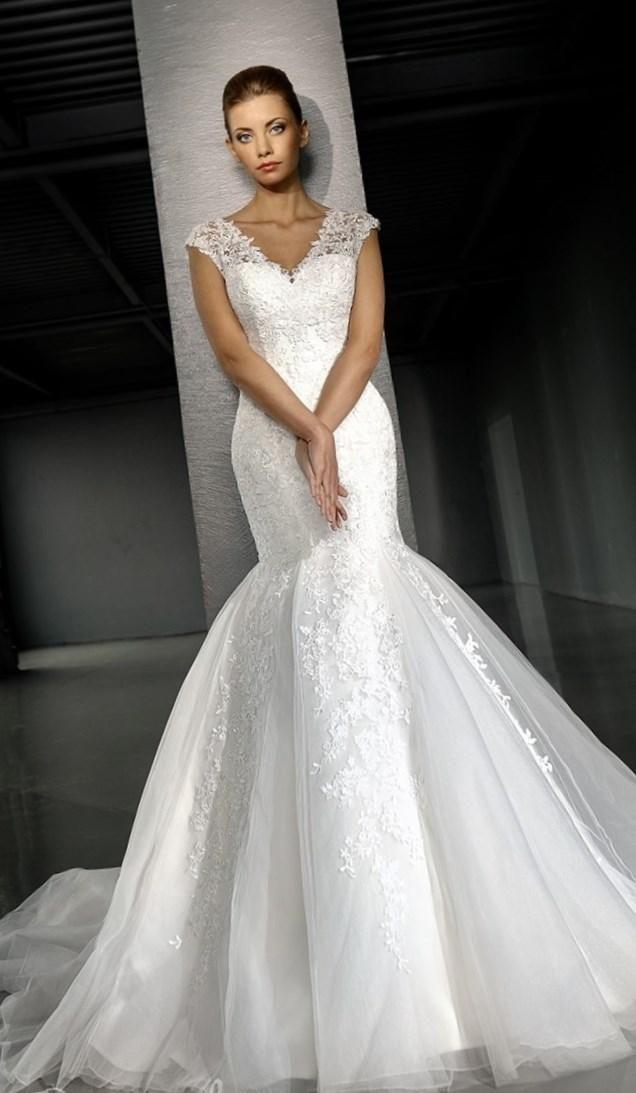 Платье гаде фото свадебное