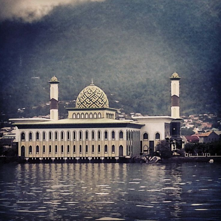 Seaside Mosque at Ternate