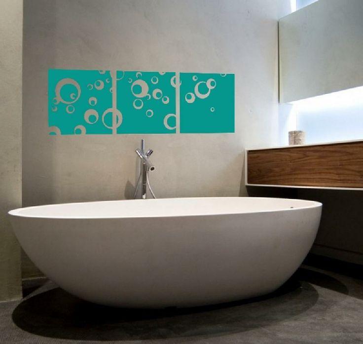 17 meilleures id es propos de stickers salle de bain sur for Stickers porte meuble salle de bain