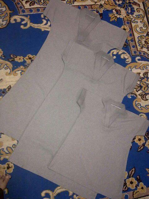 DIY? segalanya bermula disini!: Tutorial 1 ~ Cara potong jubah mekah : Size 7 tahun