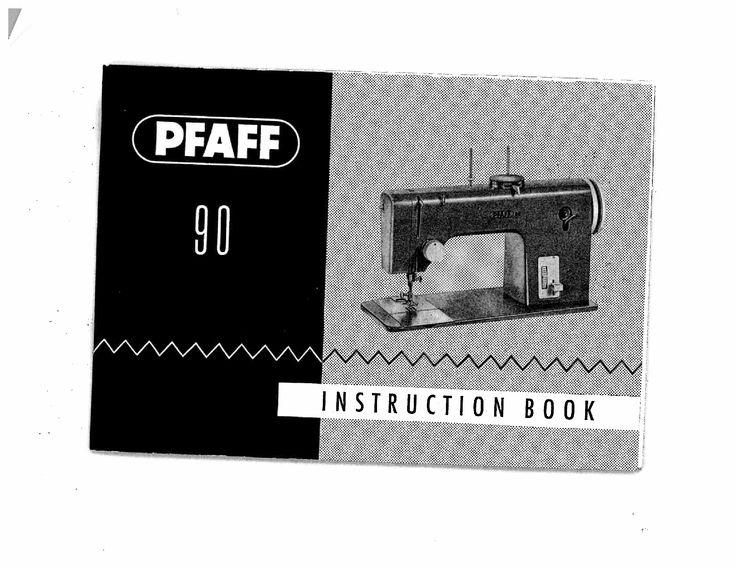 Download Pfaff 90 Manual - Documents