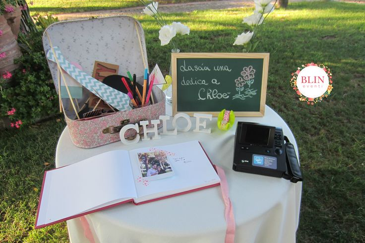 Photobooth Battesimo Baby by Blin Eventi www.blineventi.it