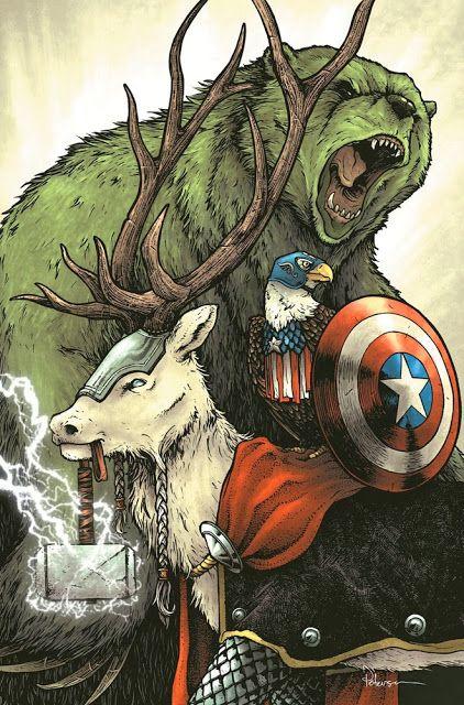 heróis animais! www.boraborahut.com/2013/12/herois-animais.html