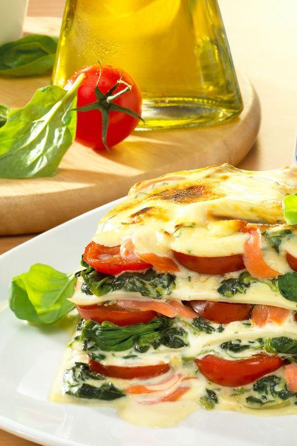 Rezept Spinat-Lachs-Lasagne