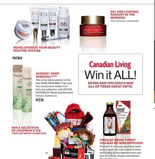 CANADIAN LIVING'S 12 DAYS OF GIVEAWAYS: DAY 1