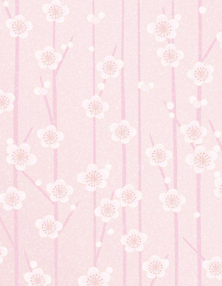 Vintage Pink | Free printable vintage pink flowers background stationary paper