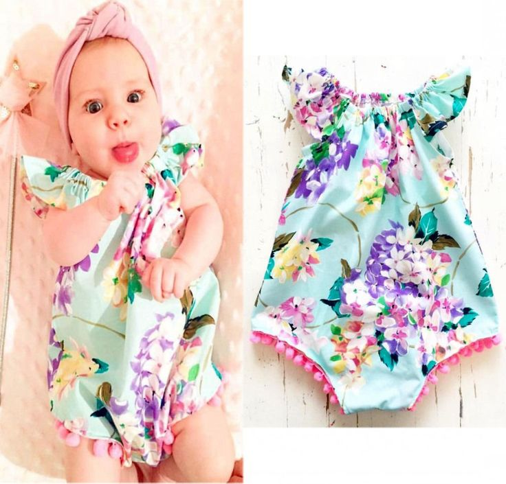 >> Click to Buy << Fshion Summer Newborn Kids Baby Girls Floral Romper Jumpsuit Sunsuit Clothes 0-18Months #Affiliate