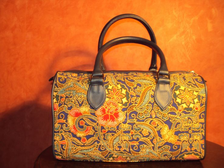 Batik Bag from Indonesian Etnic