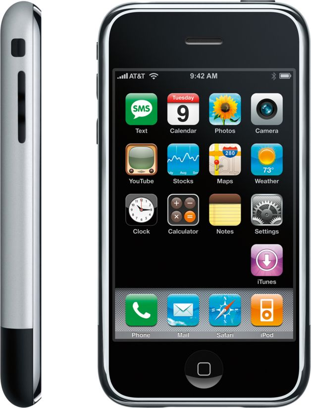 iPhone 1st Generation. Simply the most innovative product for decades.