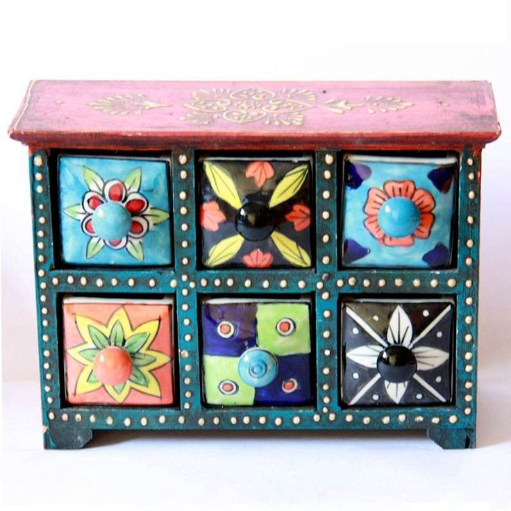 TO DO:  Paint a Wooden box from the craft store...or to hold jewelry or craft bits and bobs