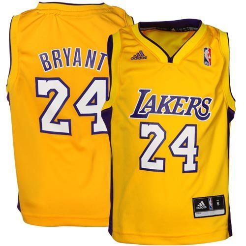 Adidas Youth NBA Los Angeles Lakers Kobe Bryant Home Replica Jersey 56  Medium >>> Click on the image for additional details.