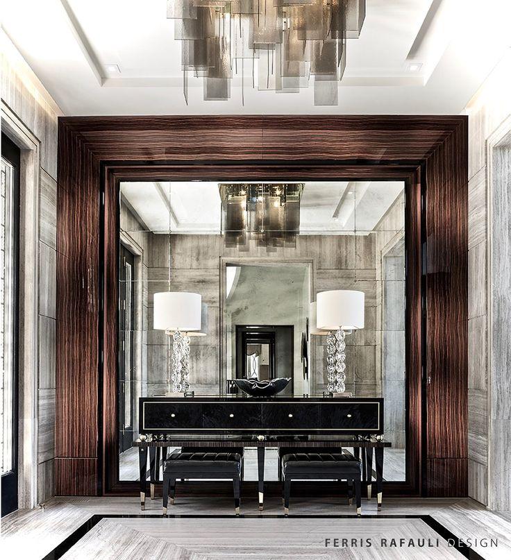 35 Modern Interior Design Ideas Incorporating Columns Into: 1000+ Ideas About Modern Foyer On Pinterest