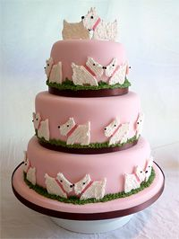 Westie Cake!