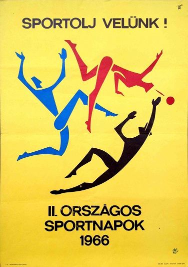 Let's do sport with us! 2nd National Sports Day (1966)