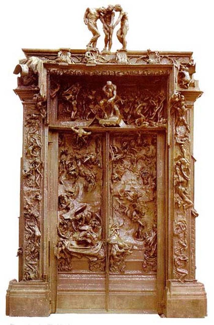 오귀스트 로댕. 지옥의 문