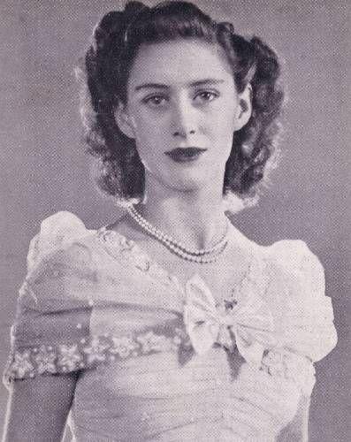 Princess Margaret Sister And Bridesmaid To Elizabeth Ii