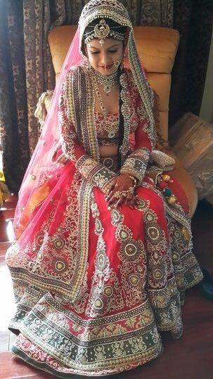 #red #wedding #love #dressingup #bridal #loveforred #bestday
