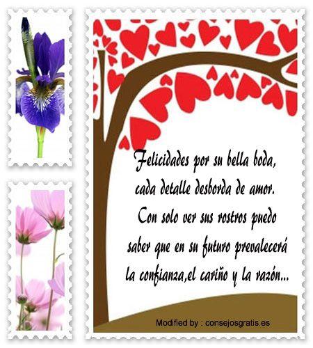 frases para parejas que se casan,frases para un amigo que se casa: http://www.consejosgratis.es/bonitas-dedicatorias-para-recien-casados/